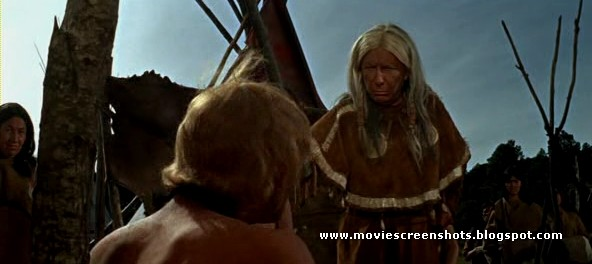 "Native American: Dame Judith Anderson as ""Buffalo Cow Head"" in A Man Called Horse (1970)"