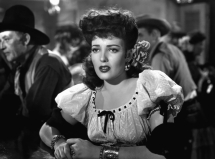 "Bad girl: Linda Darnell as ""Chihuahua"" in My Darling Clementine (1946)"