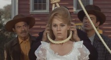 "Avenging outlaw: Jane Fonda as ""Catherine Ballou"" in Cat Ballou (1965)"