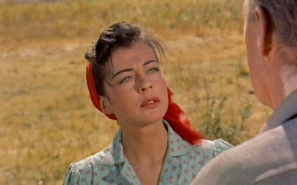 "Gail Russell as ""Annie Greer"" in Seven Men from Now (1956)"
