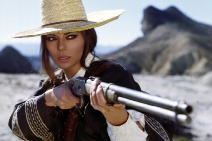 "Revolutionary: Giovanna Ravalli as ""Columba"" in Il Mercenario (1968)"