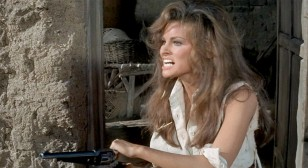 "Raped widow out for revenge: Raquel Welch as ""Hannie Caulder"" in Hannie Caulder (1971)"