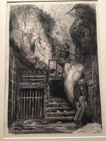 Gustave Doré: Rue de la Vieille Lanterne ou Allégorie sur la mort de Gérard de Nerval.