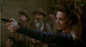 "Outlaw: Pamela Reed as ""Belle Starr"" in The Long Riders (1980)"