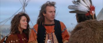 "Gone Native American: Mary McDonnell as ""Stands with a Fist"" in Dances with Wolves (1990)"