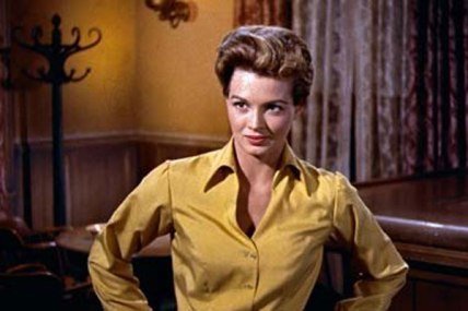 "Gambler: Angie Dickinson as ""Feathers"" in Rio Bravo (1959)"
