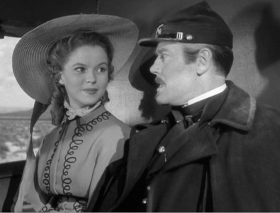 "Daughter: Shirley Temple as ""Philadelphia Thursday"" in Fort Apache (1948)"