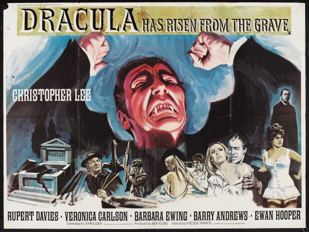 1969 Dracula has risen from the grave - Dracula vuelve de la tumba (ing) (bq)