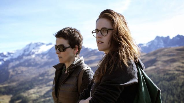 Kristen Stewart with Juliette Binoche in Clouds of Sils Maria (2014)