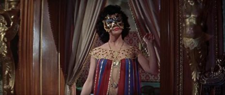 Norma Marla as The Snake Dancer (sans snake) in The Two Faces of Dr Jekyll (1960)