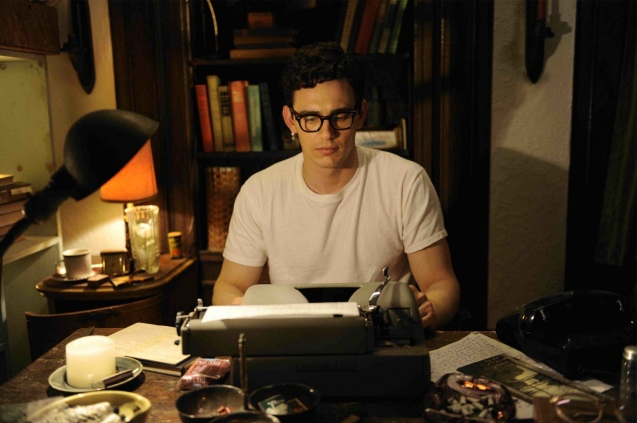 James Franco as Allen Ginsberg in Howl (2010)