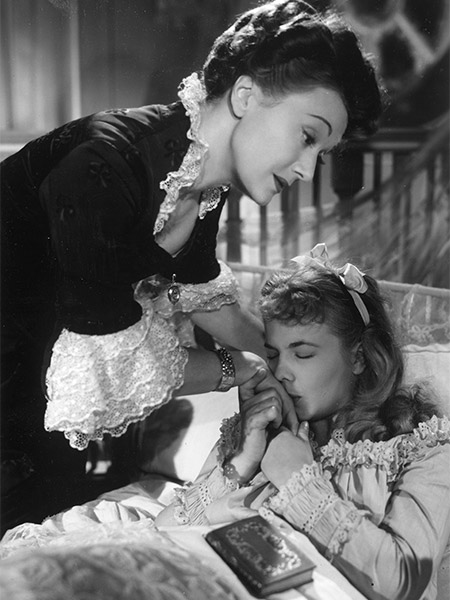 Edwige Feuillère and Marie-Claire Olivia in Olivia (1951)