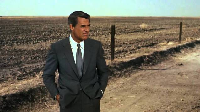Not your average everyman - Cary Grant in North By Northwest (1959)