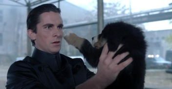 Christian Bale and pup in Equilibrium.