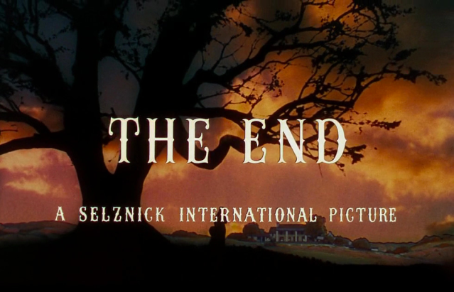 SIGNING OFF: END CREDITS IN THE MOVIES