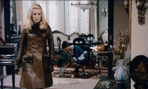 Catherine Deneuve + Belle de Jour + brown leather 5